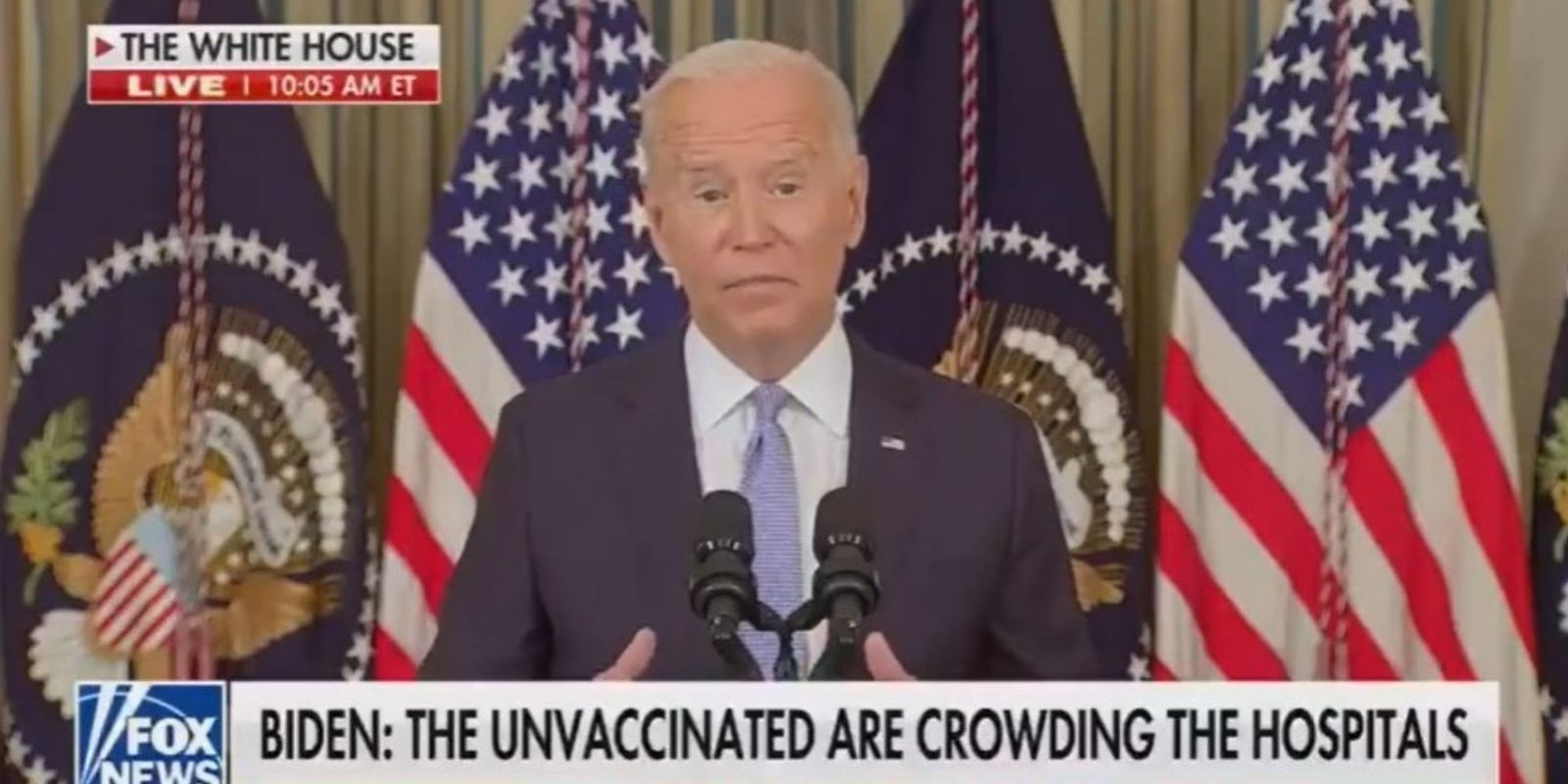 WATCH: Biden says he's 'moving forward with vaccination requirements wherever' he can