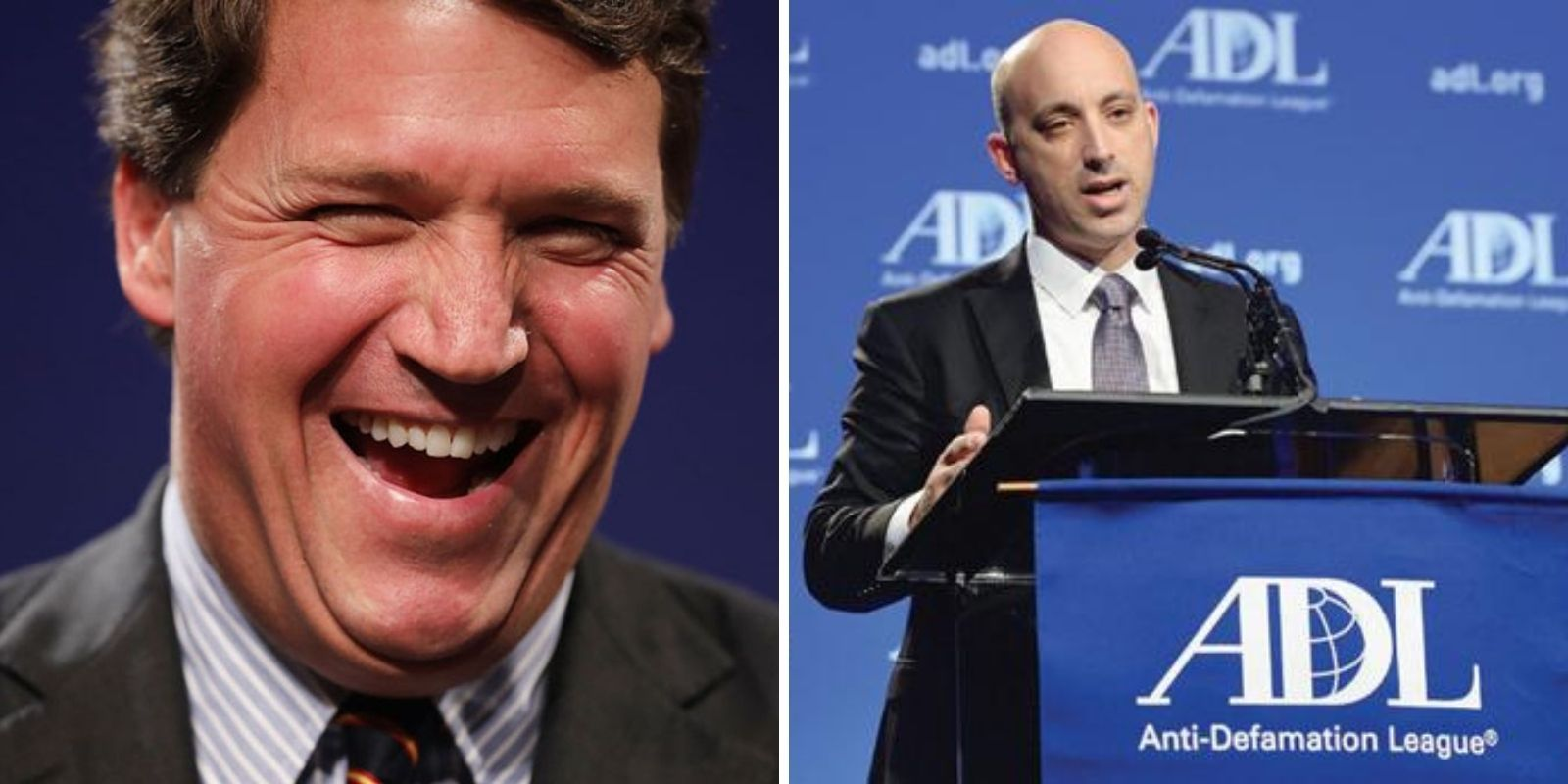 Tucker Carlson laughs off ADL's calls to fire him: 'Oh, f*ck them'