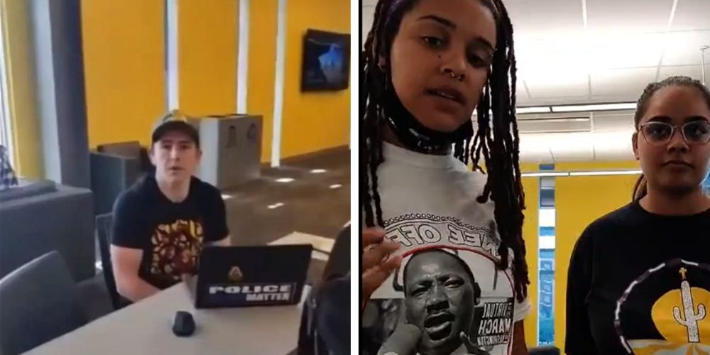 WATCH: White male students forced from 'multicultural' space at Arizona State because 'whiteness is not a culture'