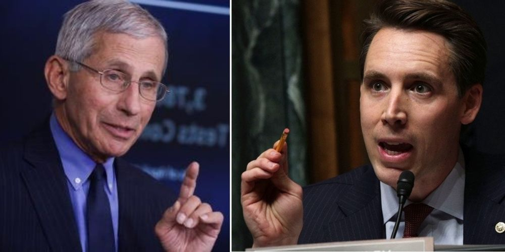 BREAKING: Josh Hawley demands Fauci's resignation, and that he 'face a congressional inquiry' into Wuhan funding