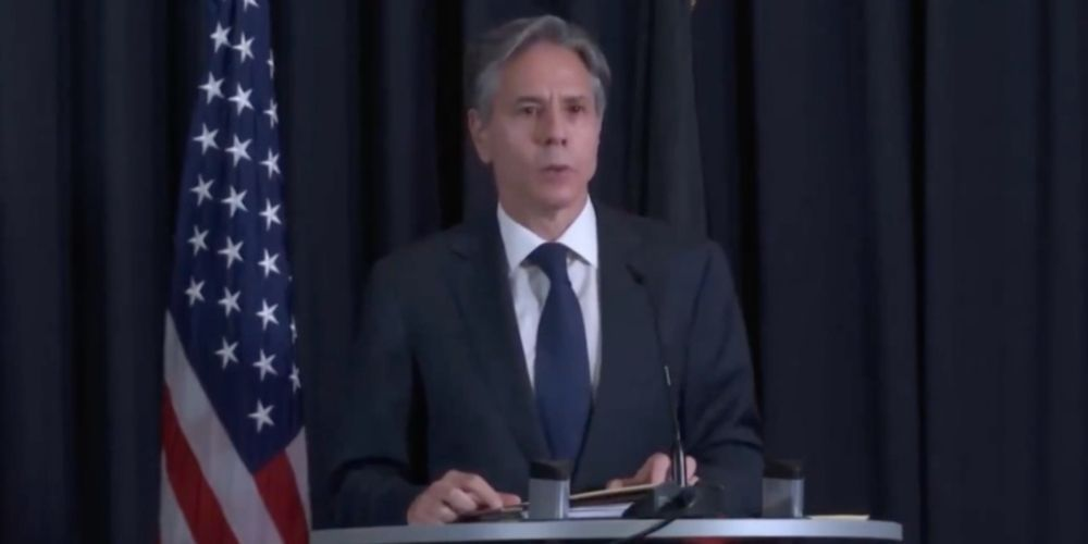 WATCH: Secretary of State Blinken says Taliban are not permitting charter flights to leave Kabul