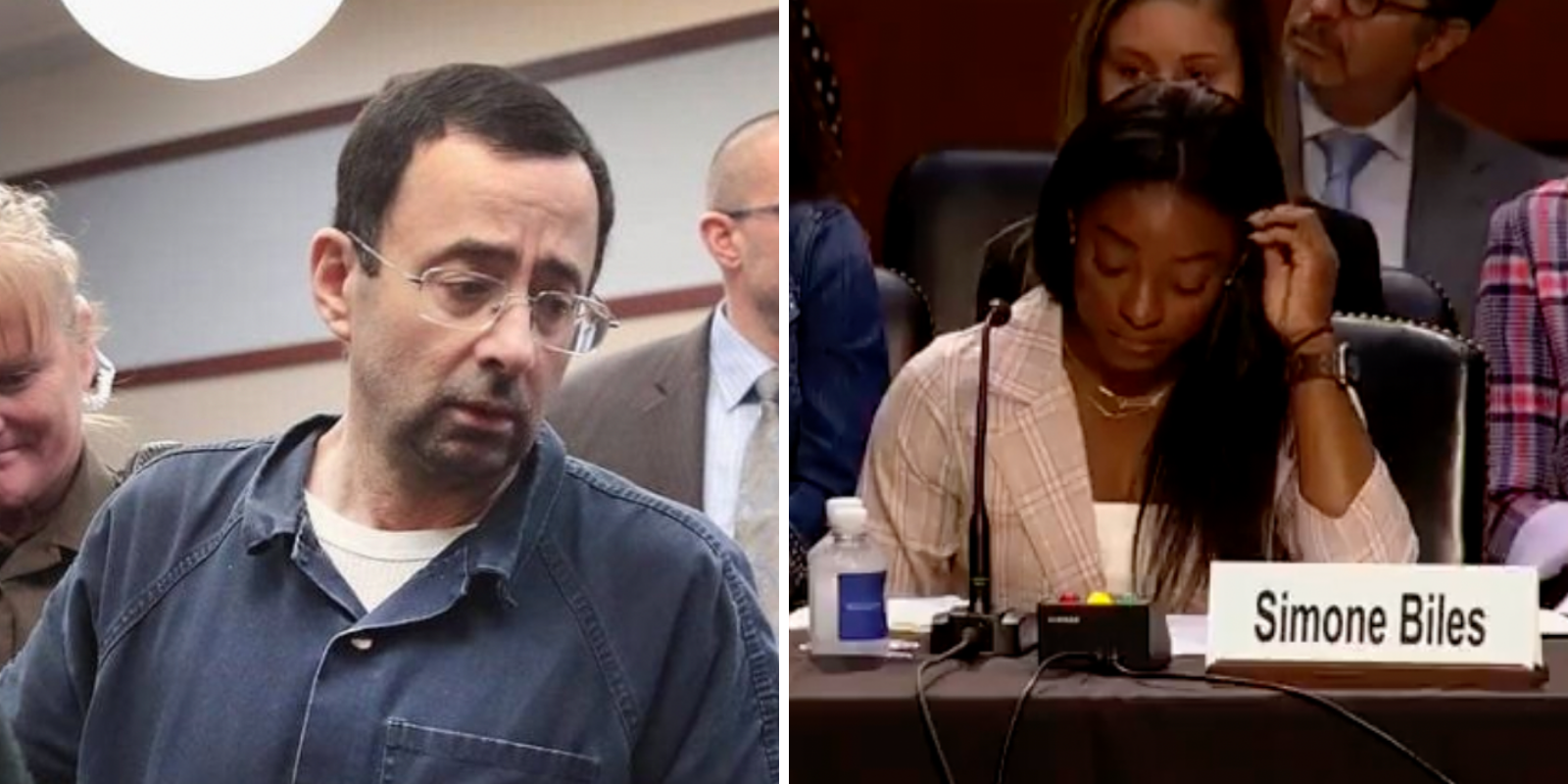 BREAKING: US gymnasts slam the FBI for 'concealing' Larry Nassar abuse