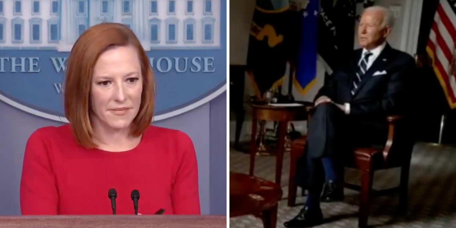 BREAKING: Psaki does damage control after Milley and Austin tell congress they advised Biden to keep troops in Afghanistan