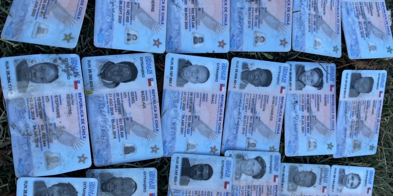 Abandoned IDs found at US border show Haitian migrants held Chilean refugee status: report