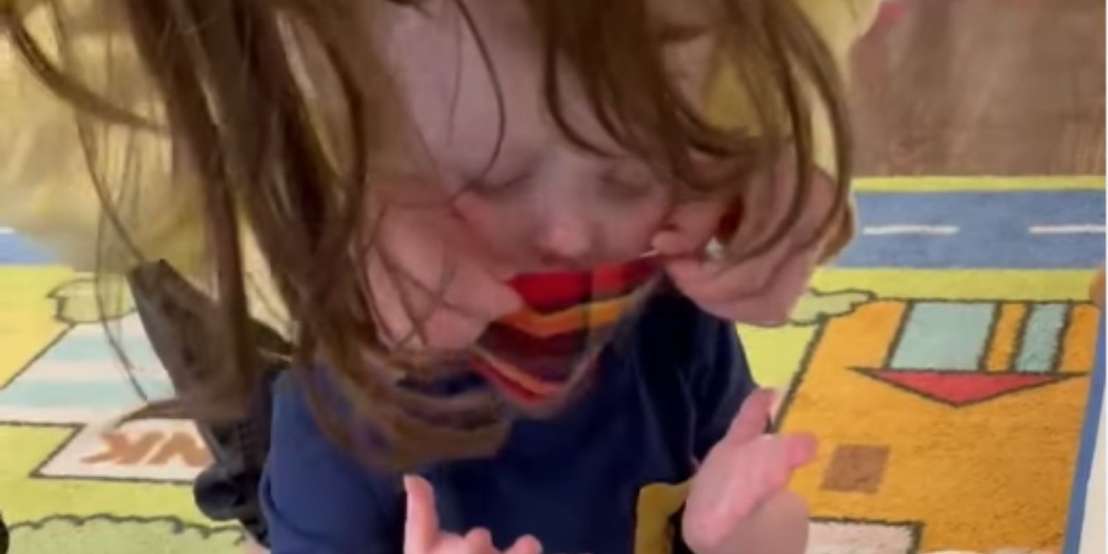 WATCH: viral video of toddler causes pushback against NY mask mandate in daycares
