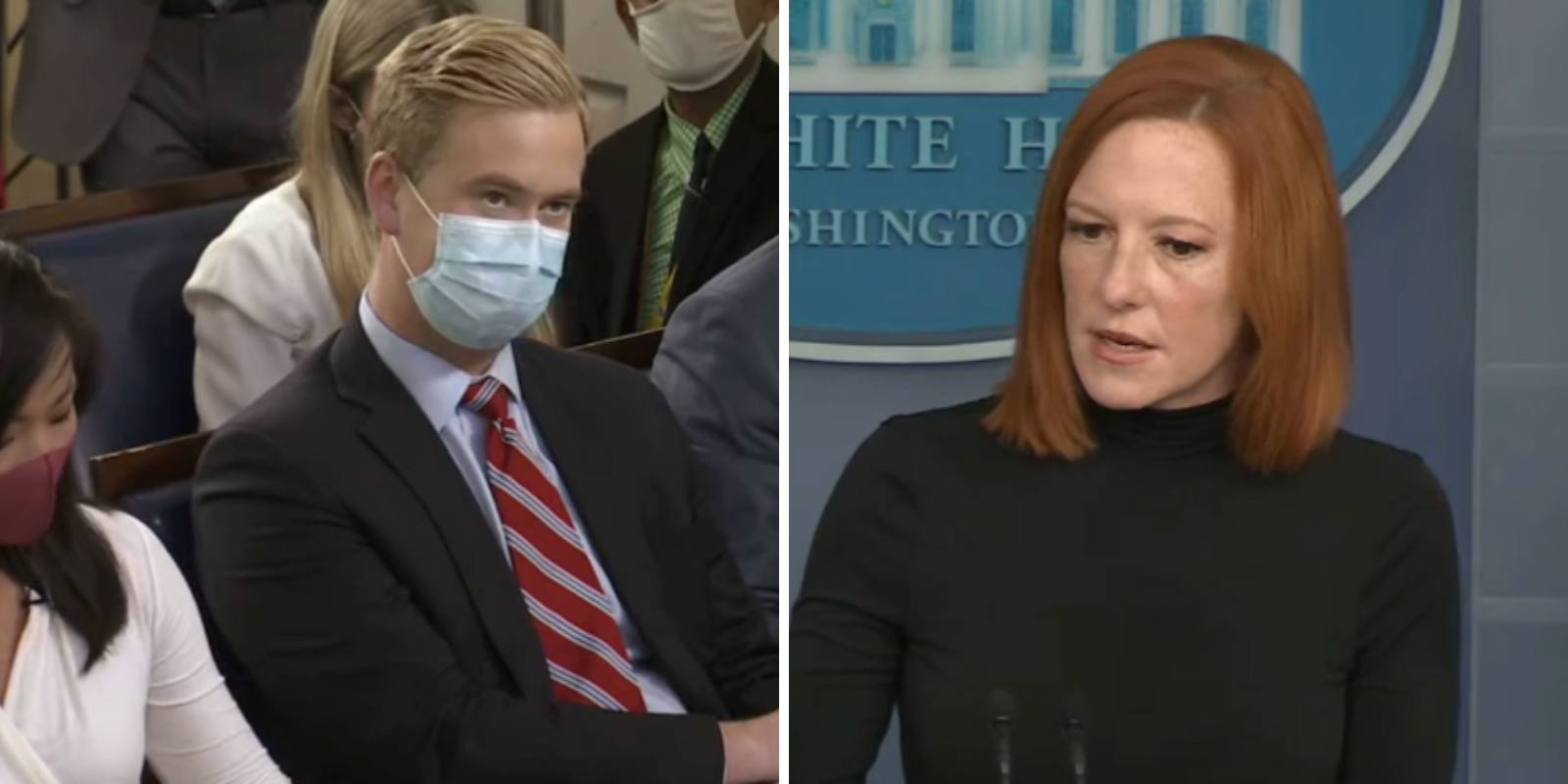 BREAKING: Psaki says vaccine mandates are for Americans, not illegal immigrants at the southern border