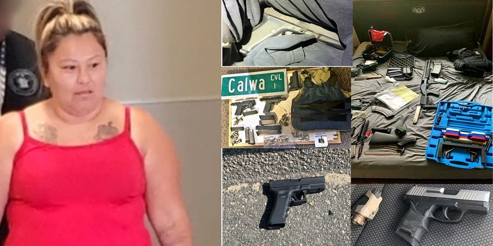California mother arrested for using $4.9 million police shooting settlement to purchase guns for son's gang