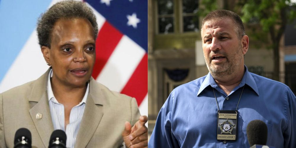 Chicago Police union president tells officers to 'hold the line' on vaccine mandates
