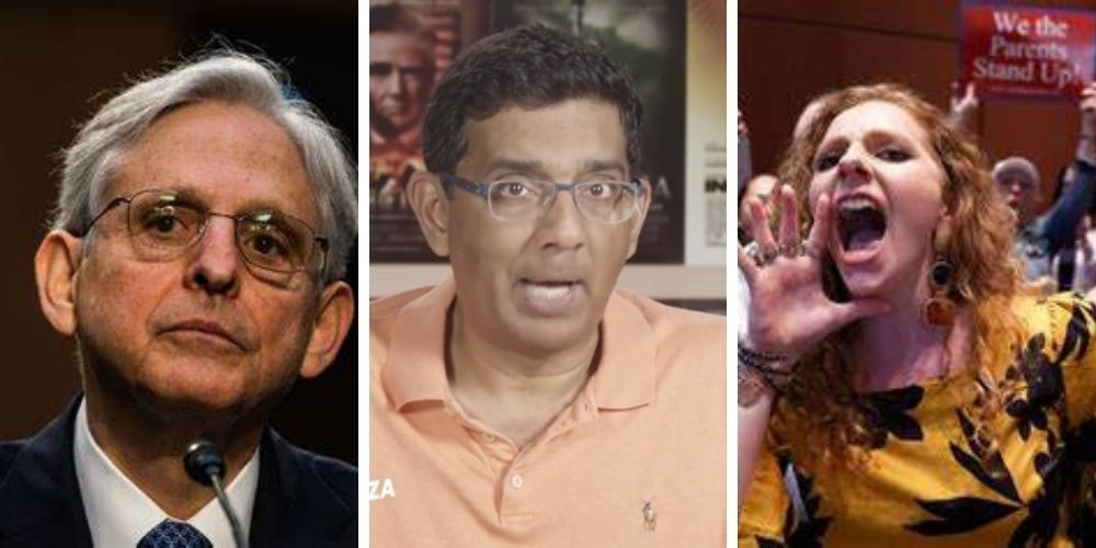 WATCH: Dinesh D'Souza explains why Merrick Garland won't be able to stop parents from standing up to school boards, Ari Hoffman, on October 13, 2021 at 6:47 am The Post Millennial