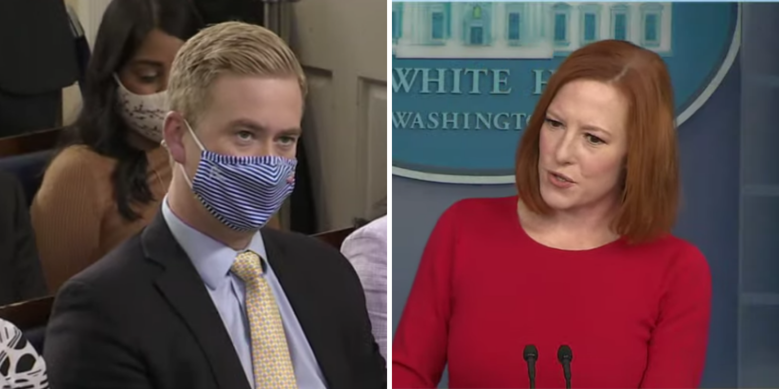 WATCH: Psaki justifies vaccine mandates, stating COVID was the leading cause of death among cops last year, Libby Emmons, on October 19, 2021 at 6:35 pm The Post Millennial