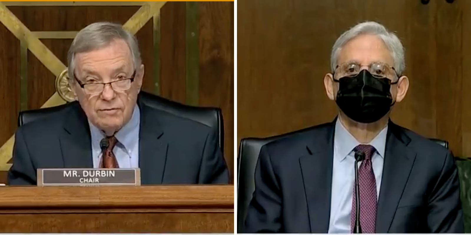 WATCH: Sen. Durbin praises AG Garland for mobilizing the FBI against parents at school board meetings, Hannah Nightingale, on October 27, 2021 at 4:57 pm The Post Millennial